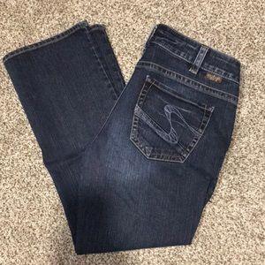 Silver jeans - suki Capri
